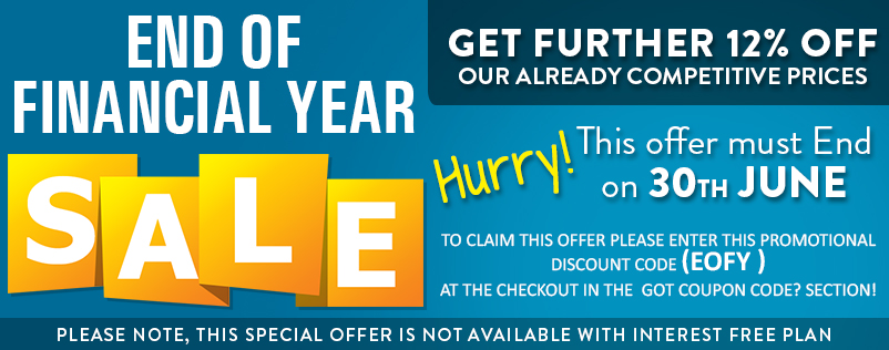 End Of Financial Year 12% off 3