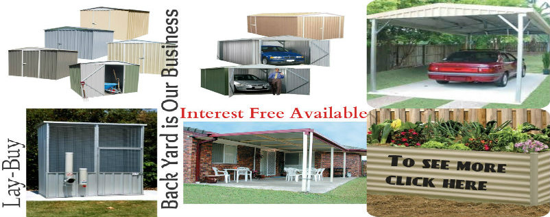 Sheds collage Interest Free & Lay-buy