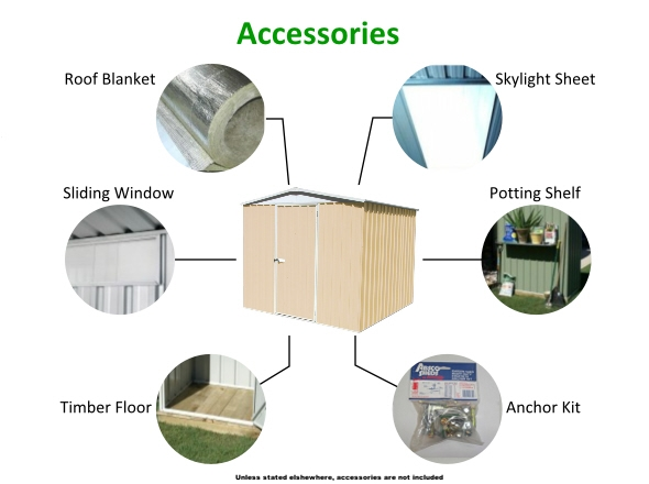 SHED & GARAGE ACCESSORIES