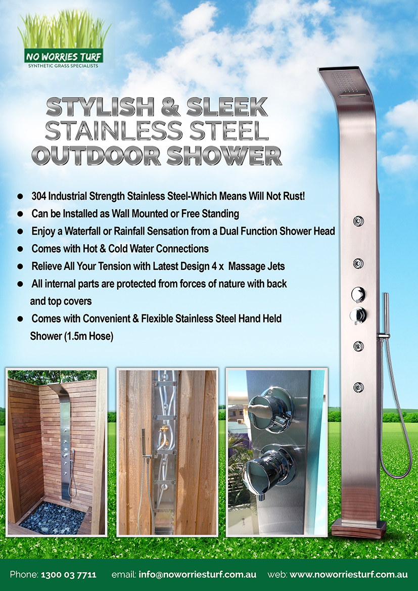 Outdoor Showers AUCTION