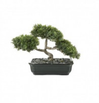 NWTURF Artificial BONSAI CONIFER 20CM POTTED Indoor Outdoor Plastic Plant