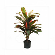 NWTURF Artificial CORDYLINE PLANT 90CM WITH 42 LEAVES Indoor Outdoor Plastic Plant