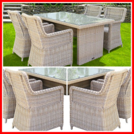 5 PIECE WICKER OUTDOOR SETTING! ASHB