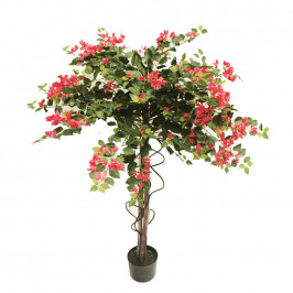 NWTURF ARTIFICIAL BOUGAINVILLEA TREE FUCHSIA 1.5M WITH 2065 LEAVES AND 728 FLOWERS