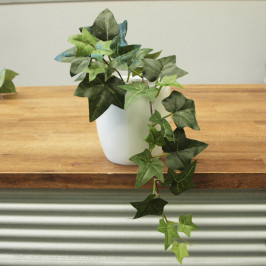 NWTURF ARTIFICIAL IVY VINE IN FIBERGLASS POT