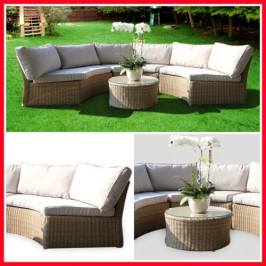 CORNER 2PC WICKER OUTDOOR SETTING! MALV