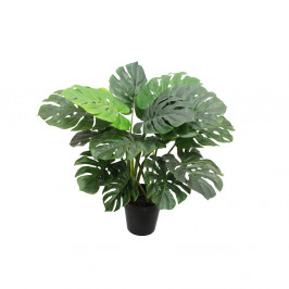 NWTURF ARTIFICIAL 50CM MONSTERIA PLANT WITH 16 LEAVES