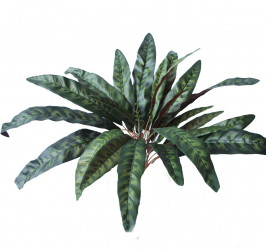 NWTURF ARTIFICIAL PEACOCK BUSH 56CM