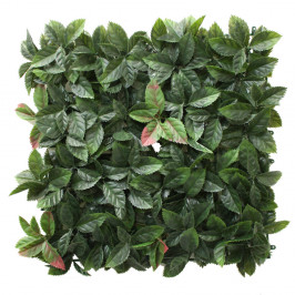NWTURF PHOTINIA MATT Set of 4 x 50CM X 50CM UV STABILISED