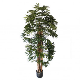 NWTURF ARTIFICIAL RAPHIS PALM 1.8M TIMBER TRUNK
