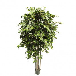 NWTURF ARTIFICIAL WEEPING FICUS TREE 2.2M WITH 2304 LEAVES