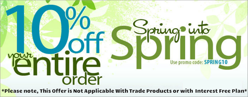 Spring 10% off special